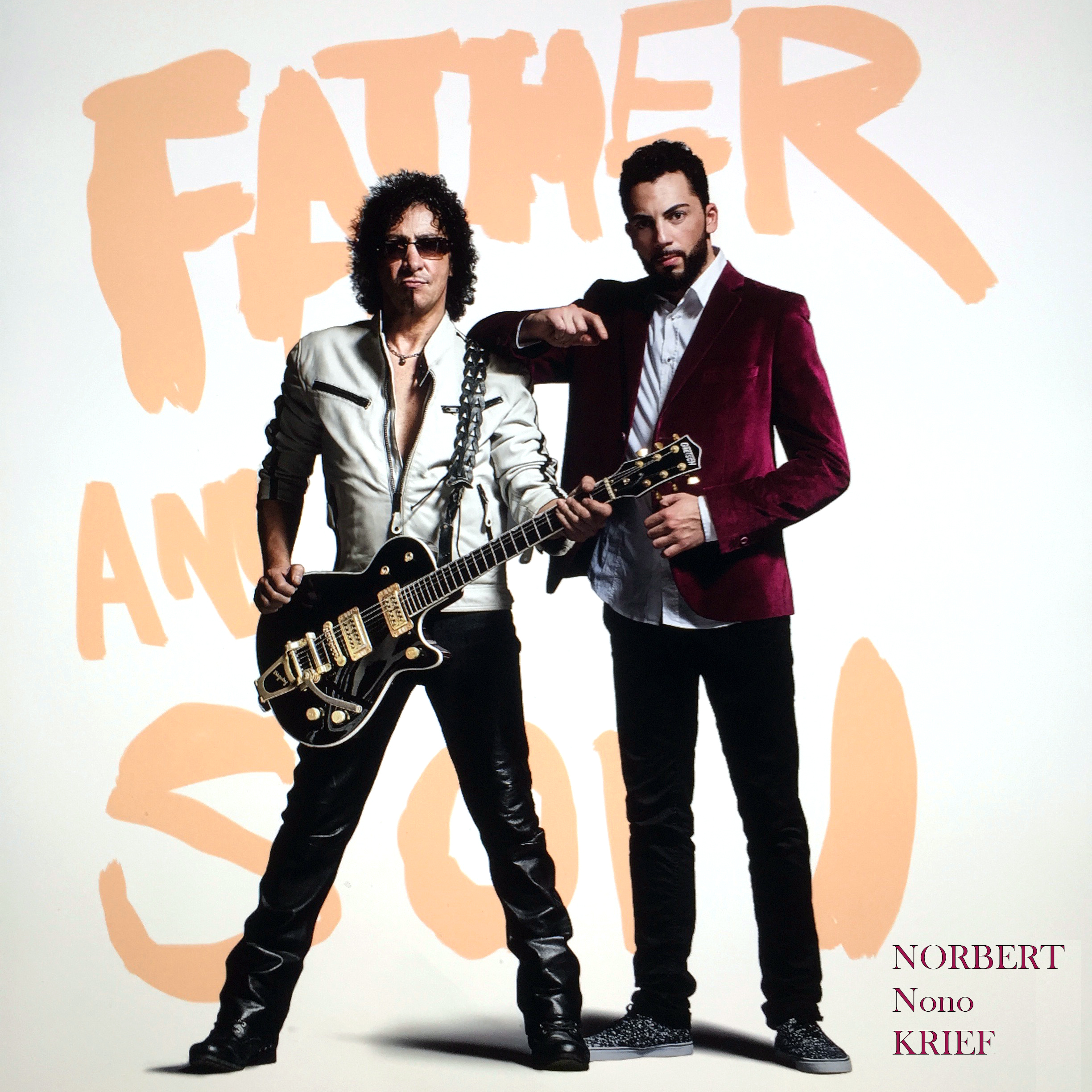 Norbert Nono Krief « Father and Son » album 2019