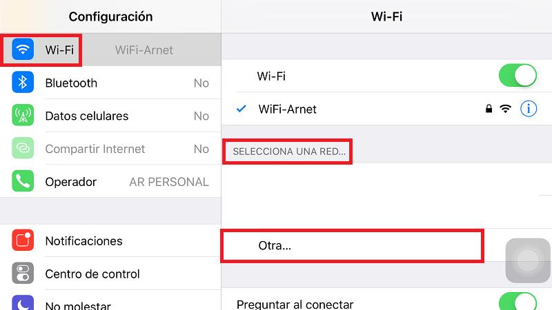 Conectarme A Una Wifi Oculta Desde Mi Iphone Nksistemas