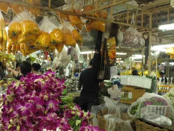 Bangkok flower market (Pak Khlong Talat)