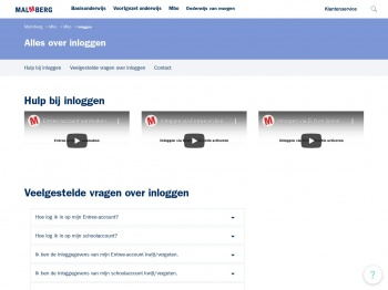 Alles over inloggen   MBO   Malmberg