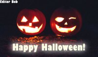 photo editor happy halloween