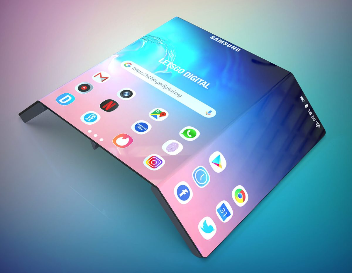 Складные телефоны Samsung