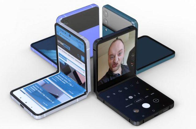 三星Z Flip 3可折疊Galaxy智能手機