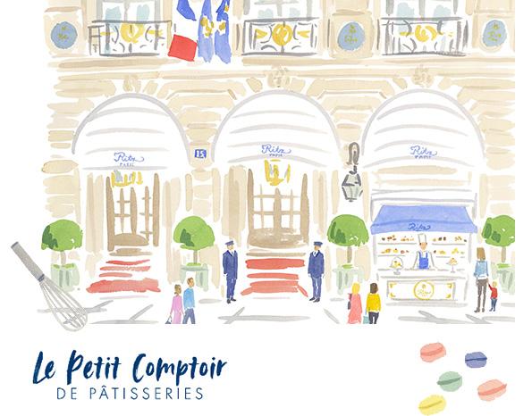 Le Petit Comptoir DE PÂTISSERIES