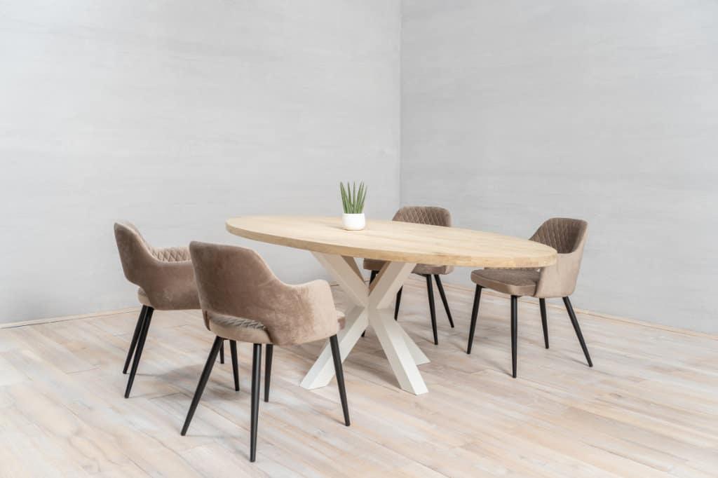 diy houten keukentafel