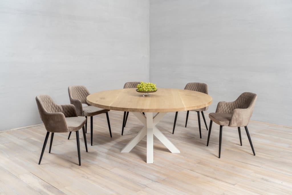 een houten tafelblad maken