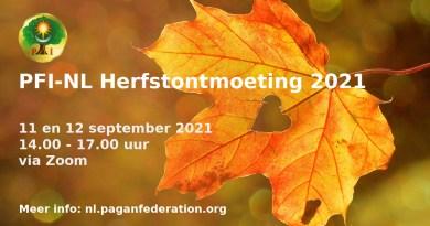 PFI-NL Herfstontmoeting 2021 - puur decoratief