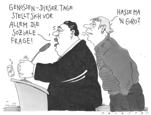 Cartoon: komplexe frage (medium) by Andreas Prüstel tagged sigmar,gabriel,spd,soziale,gerechtigkeit,sigmar gabriel,spd,gerechtigkeit,sigmar,gabriel