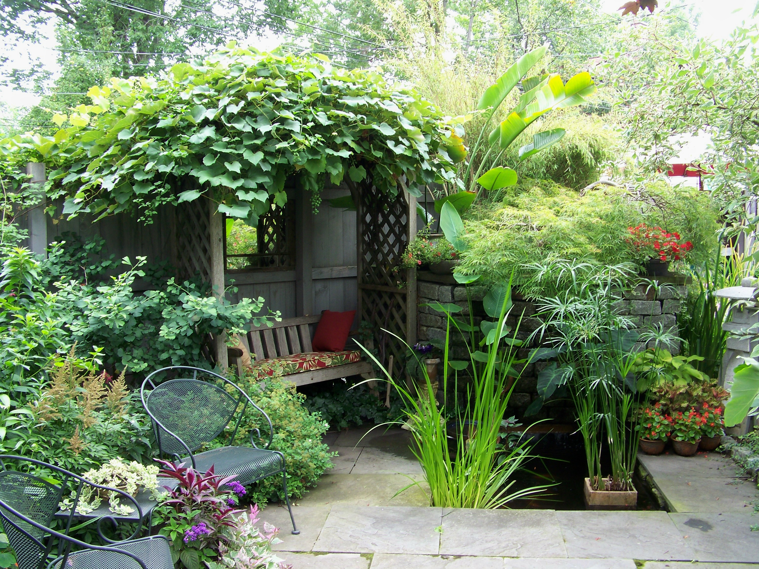 5 Amazing Small Yard Garden Ideas - NLC Loans on Patio And Grass Garden Ideas id=63759