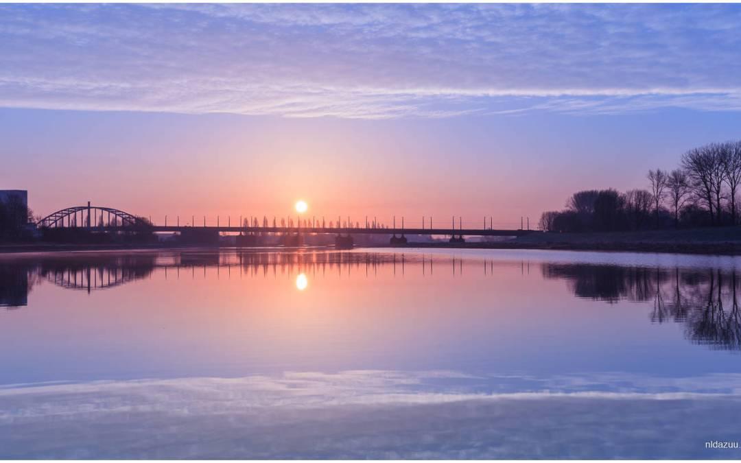 Hulpmiddelen voor het maken van een zonsopkomstfoto