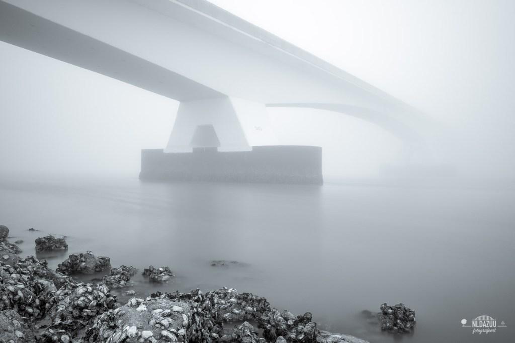 Zeelandbrug, 3 pijlers, long exposure, lange sluitertijd