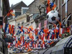 Football craze in Maastricht