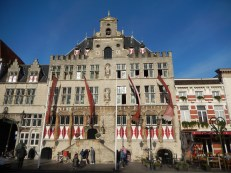 The town hall in Bergen op Zoom (started in 1398)
