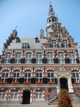 The Franeker City Hall, a Renaissance monument from 1591-1594