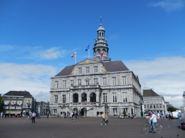 The Maastricht town hall (1659-1684), a classical style monument designed by Pieter Post