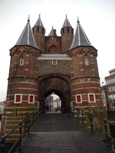The Amsterdamse poort in Haarlem (1355)