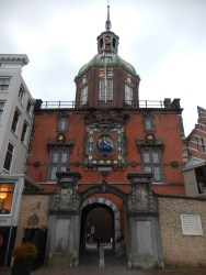 The Groothoofdspoort in Dordrecht, built in several stages from the 14th to the 17th centuries