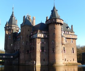 Castle De Haar, a castle ruin that was practically re-designed by Cuypers as an ideal Medieval fortress