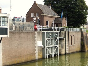 Sluice doors in Gorinchem