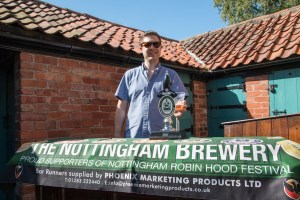 Image 1 - Barman, Pete Withers, from The Frame Breakers at the museum's garden party