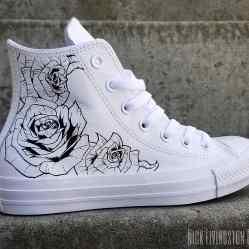 Custom Chuck Taylor - Rose