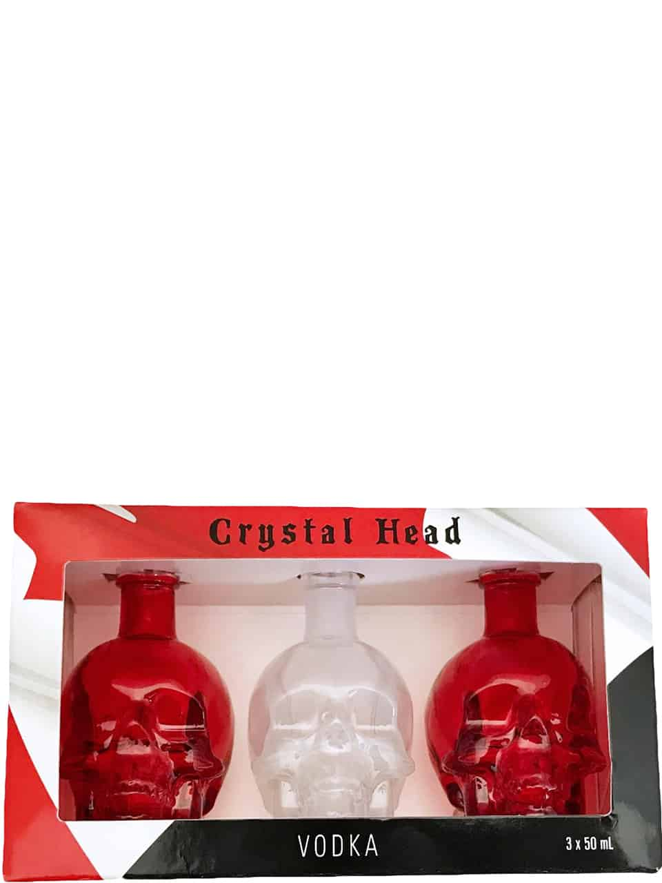Crystal Head Vodka 3pk Canada Day