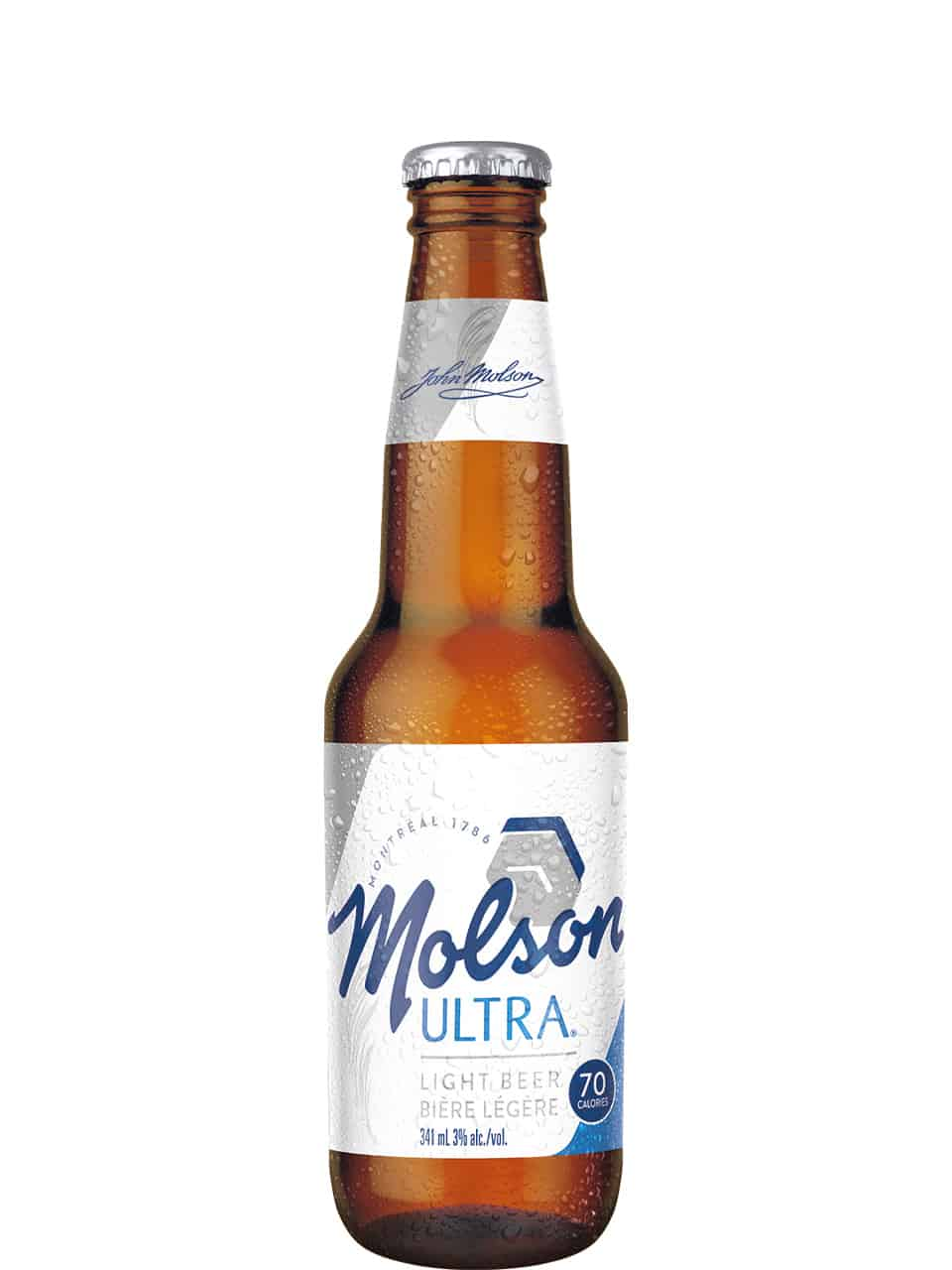 Molson Ultra 6 Pack Bottles