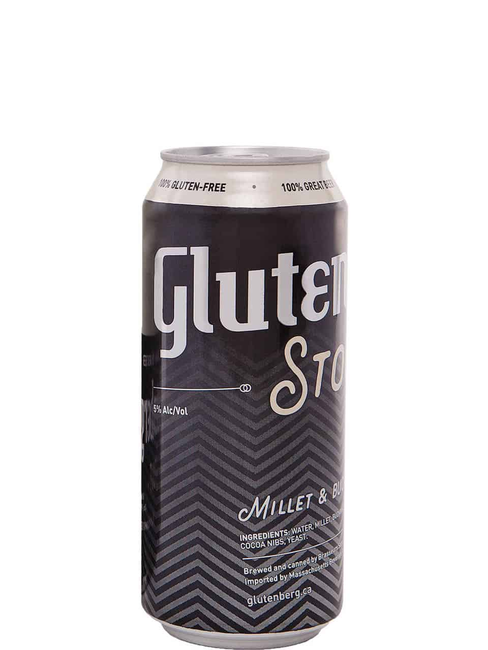 Glutenberg Stout 4 Pack Cans