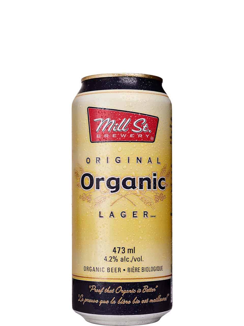 Mill St.Organic Lager 473ml Can