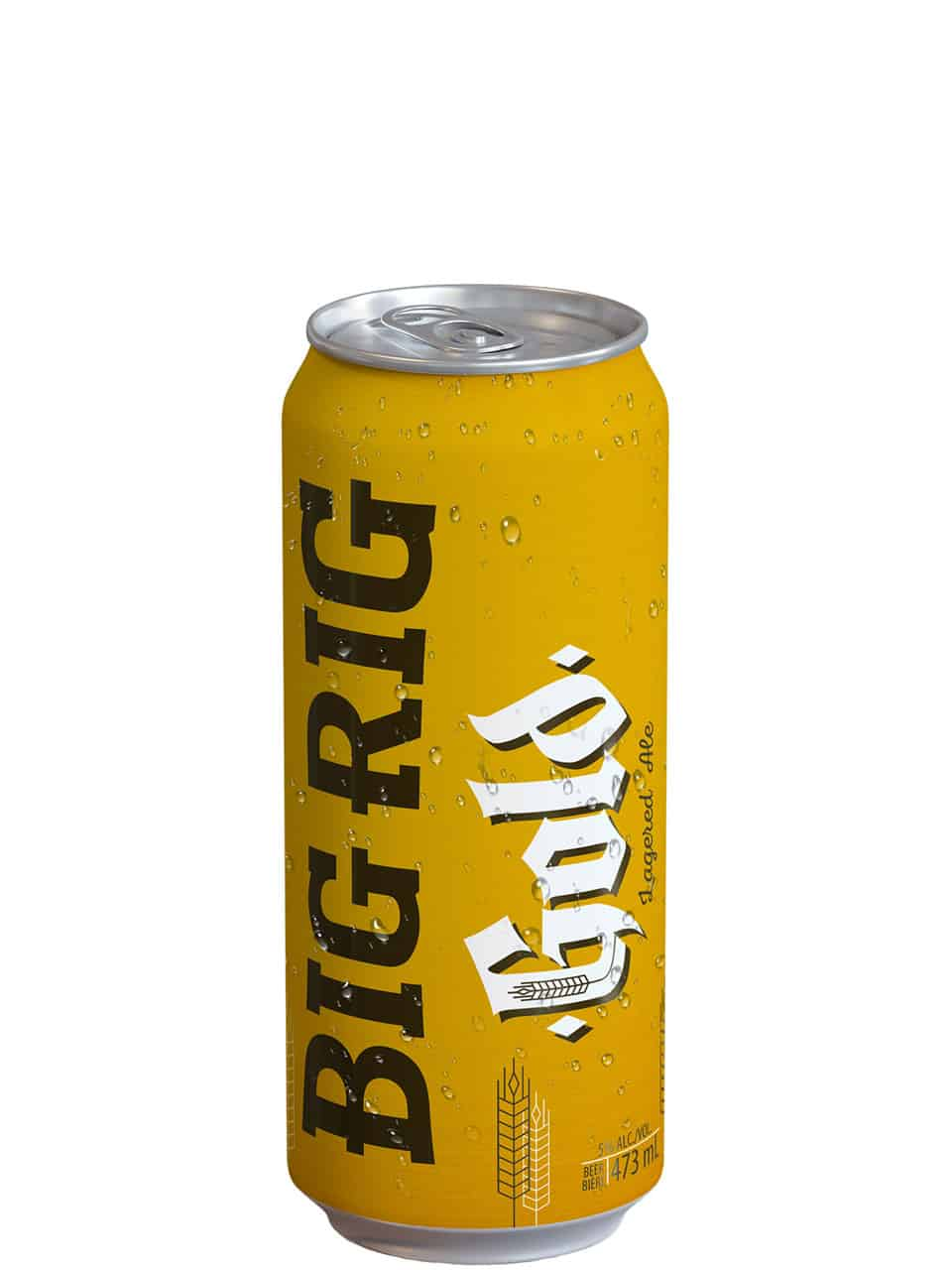 Big Rig Gold Lagered Ale 473ml Can