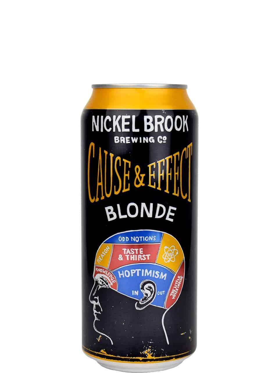 Nickel Brook Cause & Effect Blonde 473ml Can