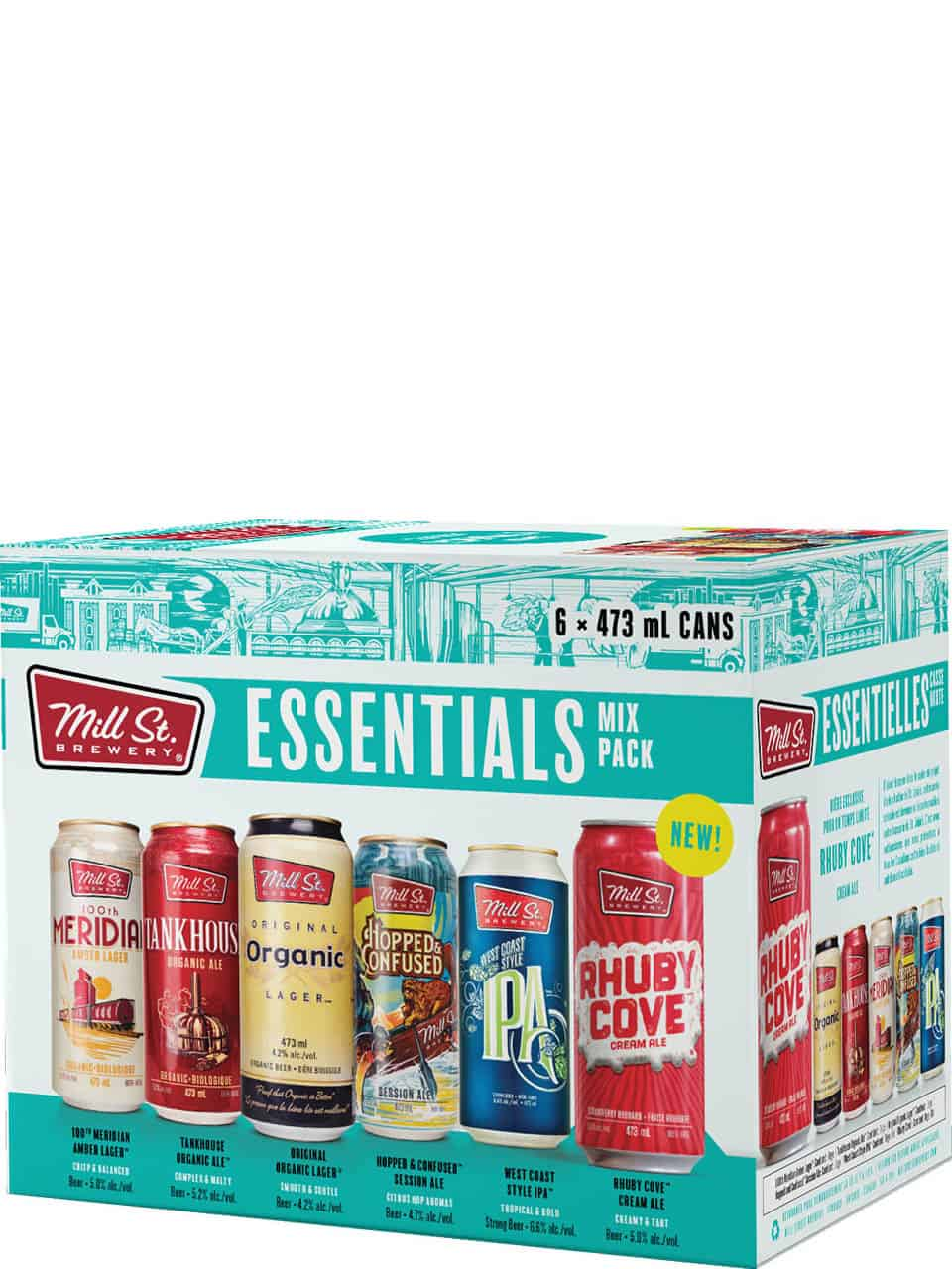 Mill St. Essentials Mix 6 Pack Cans