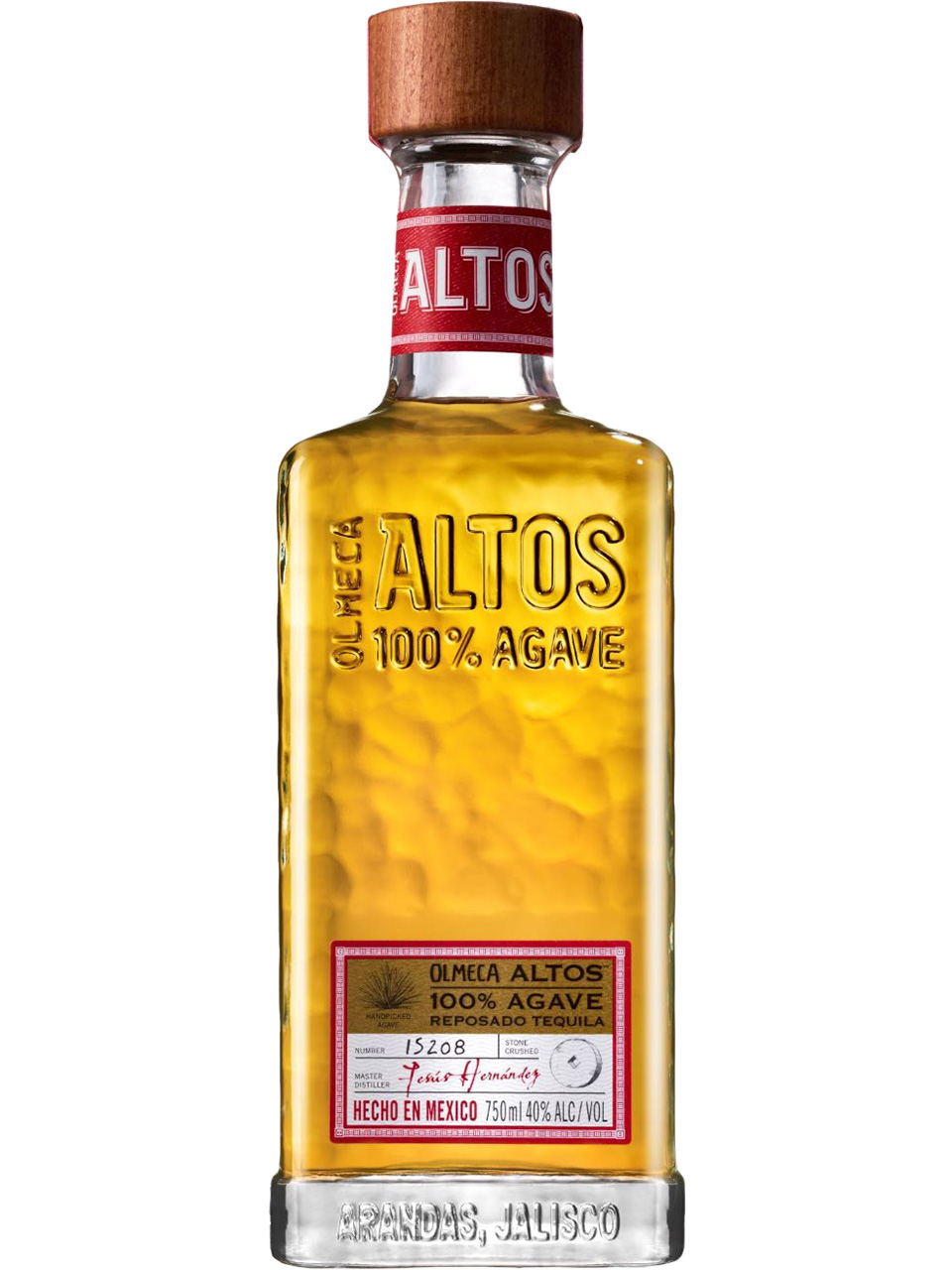 Olmeca Altos Resposado Tequila