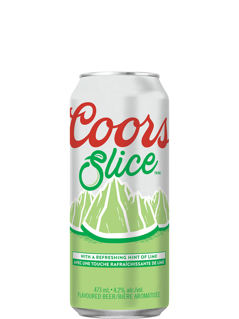 Coors Slice Lime 473ml Can