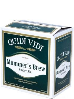 Quidi Vidi Mummers Brew 6 Pack Bottles