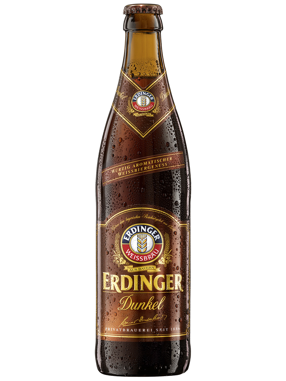 Erdinger Dunkel Weissbier 500ml Bottle