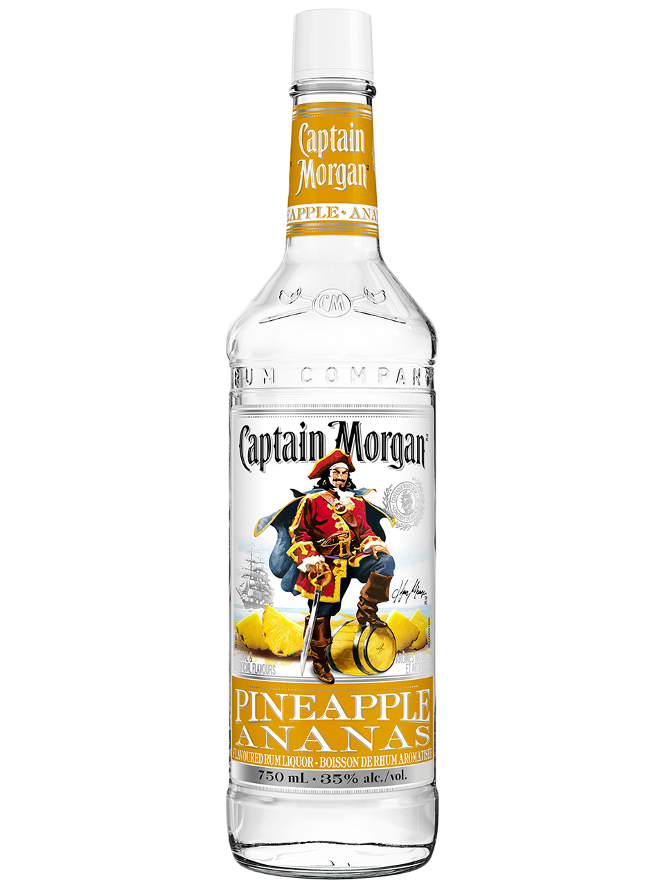 Captain Morgan Pineapple Flavoured Rum