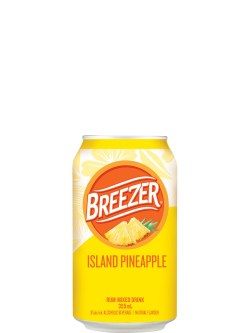 Breezer Island Pineapple 6pk Cans