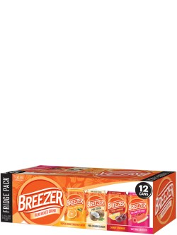 Breezer Fridge Pack 12 Pack Cans