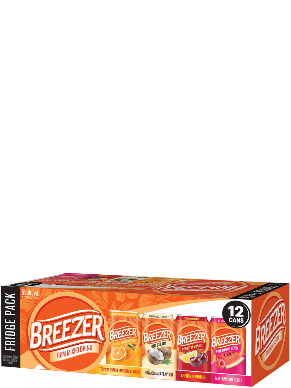 Breezer Fridge Pack 12 Pack Cans