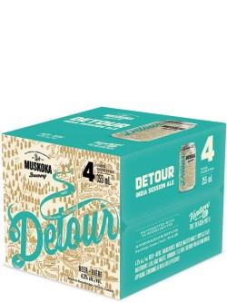 Muskoka Detour 4 Pack Cans