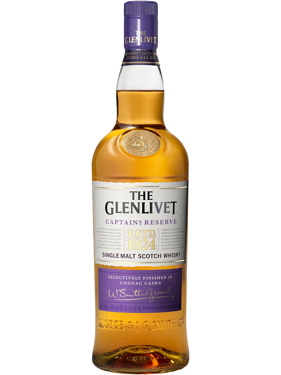 The Glenlivet Captain's Reserve Single Malt Scotch