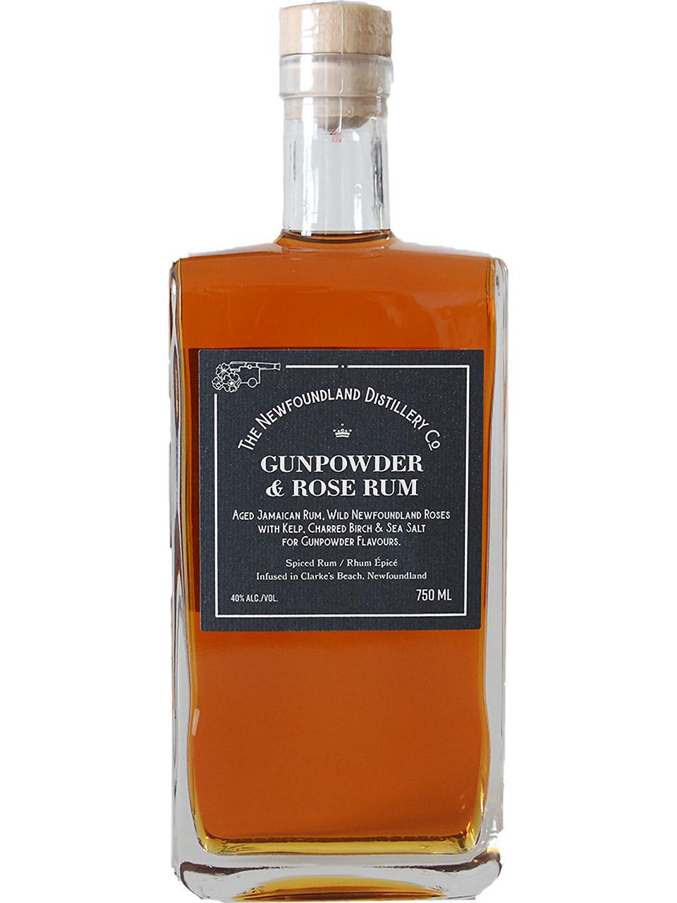 The Newfoundland Distillery Co Gunpowder&Rose Rum