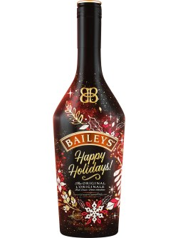 Baileys Irish Cream Liqueur Holiday Message Bottle