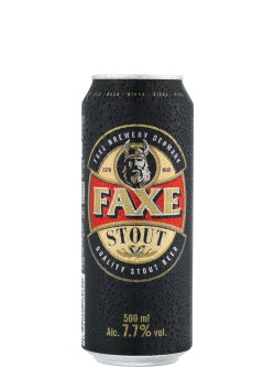Faxe Stout 500ml Can