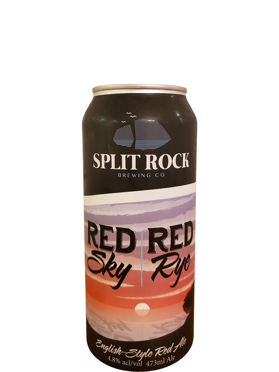 Split Rock Red Sky Red Rye 473ml Can