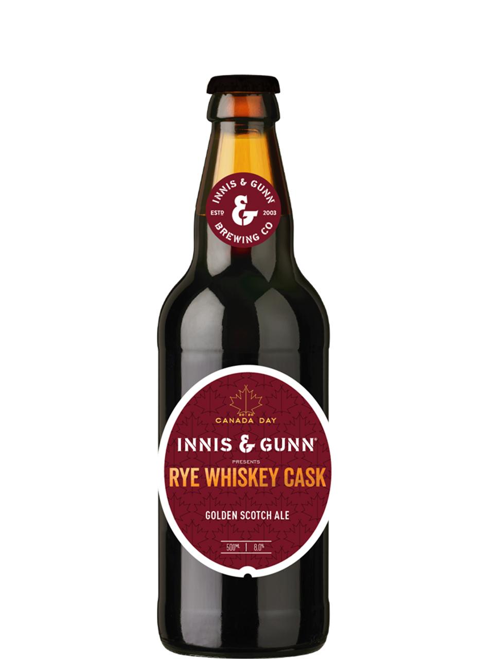 Innis & Gunn Rye Whiskey Cask 500ml Bottle