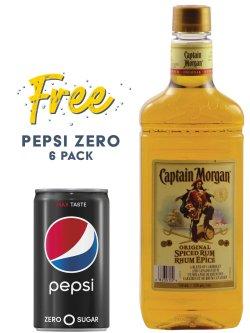 Captain Morgan Original Spiced Rum PET