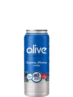 Alive by Vodka 0 Raspberry Blueberry & Acai 4pk