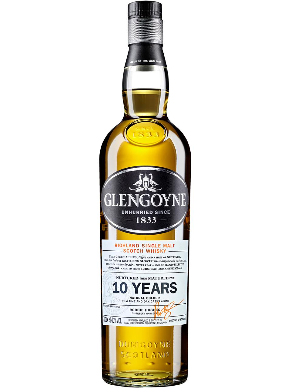 Glengoyne Highland 10YO Single Malt Scotch Whisky